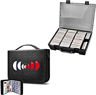 ALKOO Trading Card Binder Holds 720 Cards & 2200+ Card Case Holder Compatible with Pokemon/ Cards Against Humanity/Magic T...