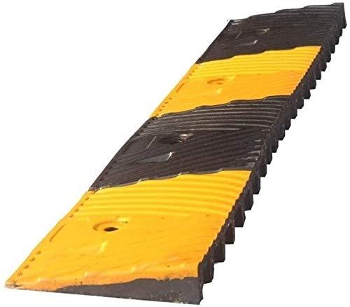 DJSMsnj Rampas de goma para coche, antideslizante, duradera, rampas de servicio multifunción para silla de ruedas, mejor capacidad de carga para vehículo (tamaño: 98,2 x 16 x 3,5 cm)