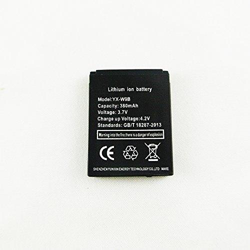 Smart Watch Batterie YX-W9B wiederaufladbare Lithium-Batterie mit 380MAH Kapazität