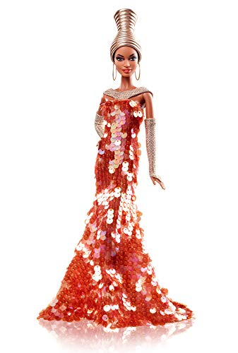Stephen Burrows Alazne Barbie Doll Etiqueta dorada