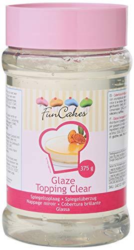 FunCakes Glaze Topping Cobertura Brillante Transparente en Gel para Tartas y Frutas, 375g G42120