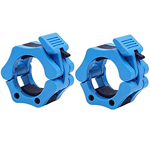 Review Of Easytoy Barbell Clamp Pair of Standard Barbell Collars Clips with ABS Locking Set for Work...