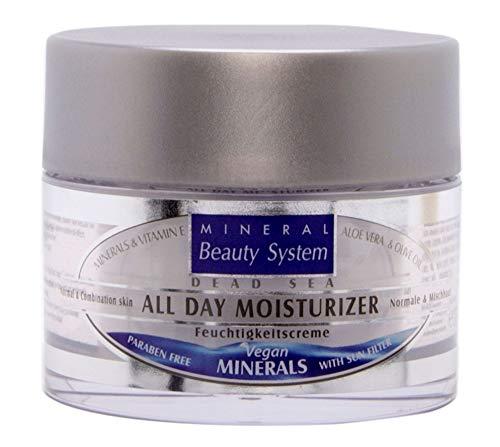 Mineral Beauty System Tode Zee dagen vochtinbrengende crème voor droge en gevoelige huid, 50 ml