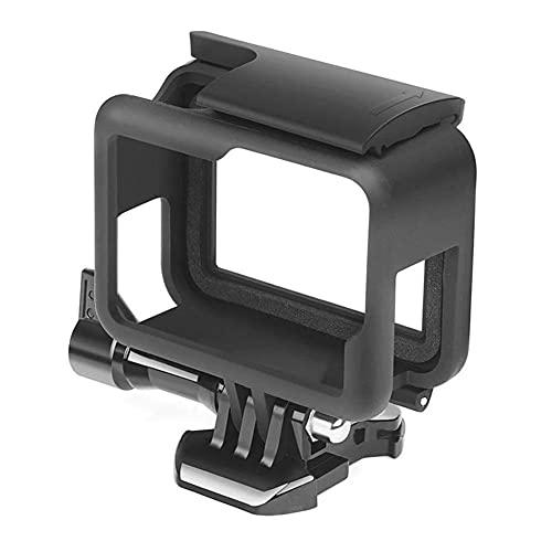 GzxLaY Nuevo Soporte de Carcasa de Cubierta de Borde de Marco Protector para GoPro Hero 6 5 7 Accesorio de cámara de acción Negro.