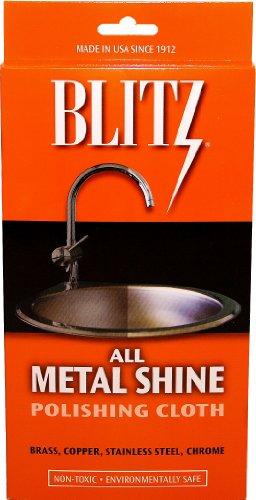 Blitz 20613 2-Pack All Metal Shine Polishing Cloth