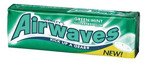Airwaves Green Mint ohne Zucker, 30er Pack (30 x 14 g)