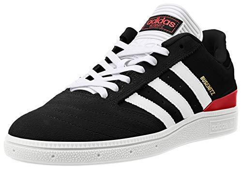 adidas Busenitz Pro - Zapatos para hombre, color negro, talla, negro (negro/blanco/escarlata), 39.5 EU