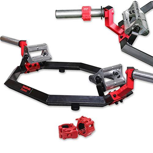 Men\'s Health POWER Trap Bar | Passend zu Scheiben mit 50mm+ 25mm (mittels Adapter) | Inkl. 2 Schnellverschlüssen für unkomplizierten Gewichtswechsel