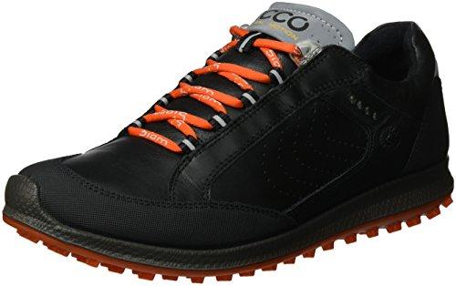 Ecco ECCO Damen Women's Golf Biom HYBRID 2 Golfschuhe, Schwarz (52570BLACK/TITANIUM), 38 EU
