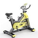 YourBooy Bicicleta estática Profesional para Interiores con Volante de inercia de 13 kg, Soporte Acolchado para los Brazos,...