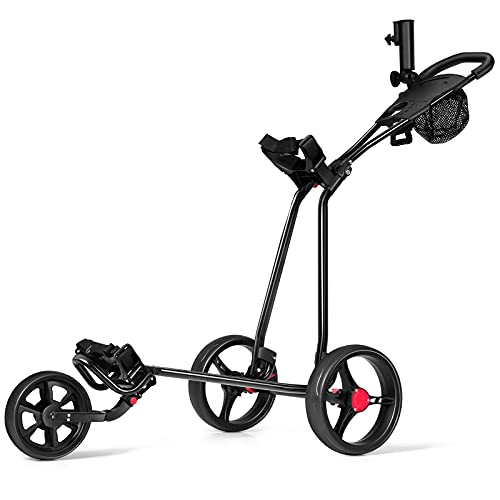 Costway -   3-Rad Golftrolley
