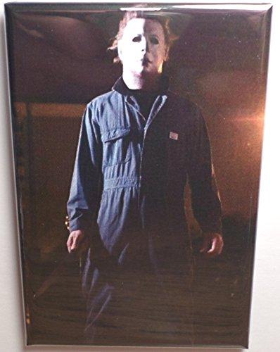 Halloween Michael Myers 2' x 3' MAGNET Refrigerator Locker Movie Image 4