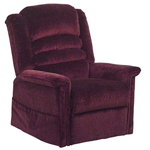 Catnapper 4825-1800-40 (Vino) Soother Power Lift Full Lay Out Chaise Recliner with Heater and Massage
