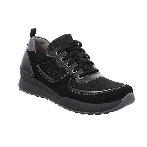Romika Victoria 13, Zapatillas para Mujer, Negro (Schwarz-Kombi 101 101), 42 EU