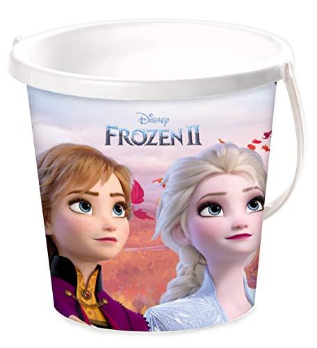 Mondo Mondo-28195 2 Bucket Frozen II Plage – Seau Renew Toys 28195, Multicolore