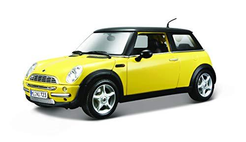 Maisto 31656, Mini Cooper con el Techo Solar, Modelo a Escala 1:18, Edición Especial