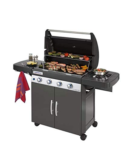 Altigasi Barbecue A Gas GPL Oppure METANO Sistema Dual Gas 4 Series Classic LS Plus Dark CAMPINGAZ (OMOLOGATO Anche A METANO)