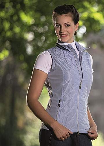 HKM Sports Equipment Lauria Garrelli Gilet d'équitation pour Femme