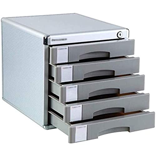 File Cabinets Strong Collision Resistance Blank Label Aluminum Alloy Lockable Drawer Organizer Digital Products Multiple Drawers Aluminum Alloy,MDF Home Office 30X36X20.5CM,30X36X30.5CM,30X36X40.5CM