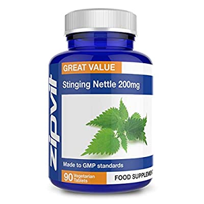 Stinging Nettle Leaf 200mg, Pack of 90 Capsules, by Zipvit Vitamins Minerals & Supplements from Zipvit