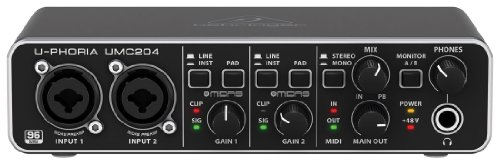Behringer U-PHORIA UMC204 - Interfaccia audio per computer