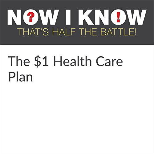 The $1 Health Care Plan audiobook cover art