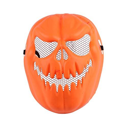 WWWL Máscara de Halloween Máscara Heargear Máscara de Halloween Payaso Calabaza Máscara de Horror Divertido Vestido Dance Up Performance Cosplay Props Halloween Máscara ASPicture