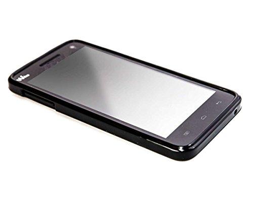 caseroxx TPU-Hülle für Wiko Rainbow 4G, Tasche (TPU-Hülle in schwarz)