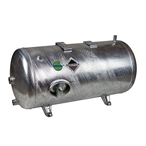 Heider Robophor Druckkessel 150 l Liter 6 bar Druckbehälter liegend verzinkt für Loewe Wasserknecht Kolbenpumpen