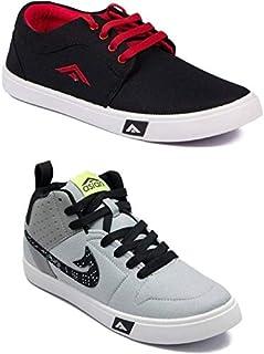 ASIAN Men's Sneaker (Set of 2 Pairs)