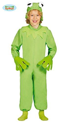 Frosch - Kostüm für Kinder Gr. 98 - 134, Größe:98/104