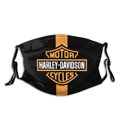SUNTIG Harley?Davidson Unique Lifestyle Of Freedom, Individuality (53) Unisex Washable And Reusable Cotton Warm Face Protection For Outdoor