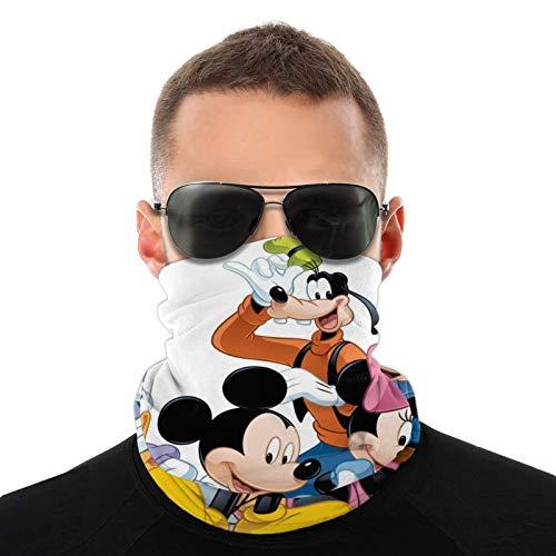 Mickey Mouse Friends - Pauelo para la cabeza y el cuello, mscara para la cara al aire libre, bandanas para hombres y mujeres