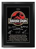 HWC Trading Jurassic Park A3 Enmarcado Regalo De Visualización De Fotos De Impresión De Imagen...