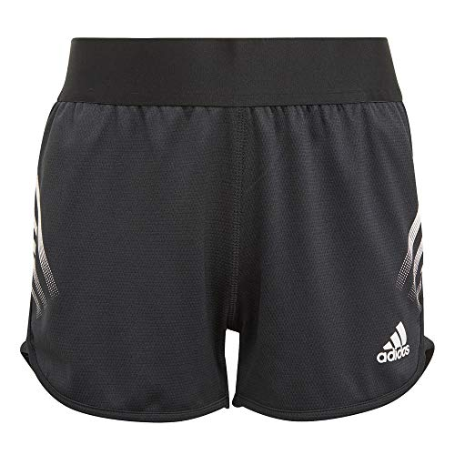 adidas G A.R. 3S Short Pantalones Cortos, Black/White, 7 años Niñas