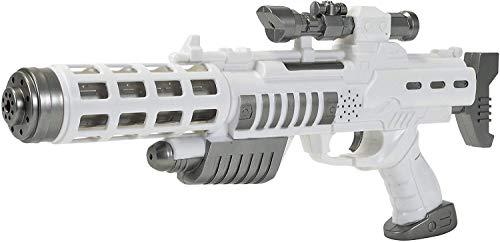 Arma con luci e suoni Materiale: plastica Età consigliata: a partire dai tre anni Prodotto di ottima qualità adatto ai bambini
