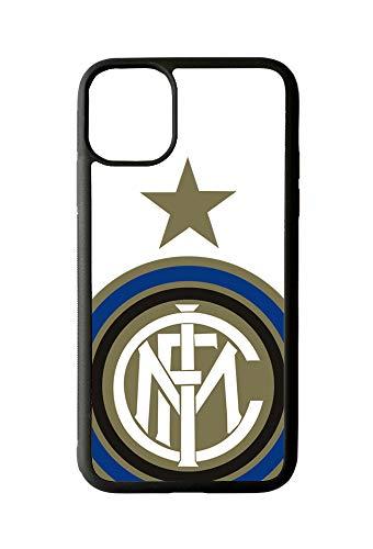 LOVELYTILES Inter Internazionale Cover iPhone Calcio Tifoso Squadra iPhone 11 (iPhone 11)
