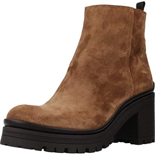ALPE laarzen/laarzen dames, kleur bruin, merk, model laarzen/laarzen dames 4481 11 bruin