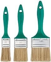 Color Expert 82650315 - Juego de brochas planas (3 unidades, mango de plstico, 30, 50 y 70 mm)