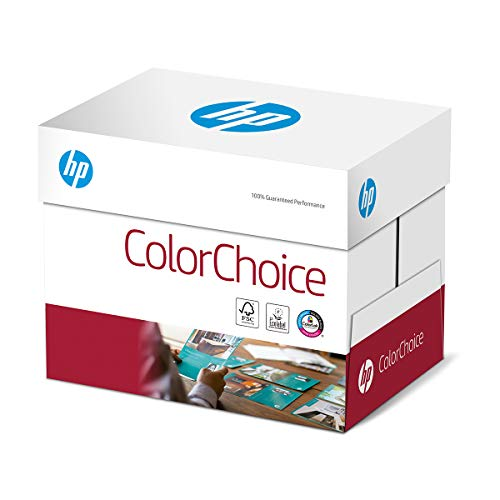 Hewlett Packard - Papel HP Color Choice, color blanco A3 200gsm