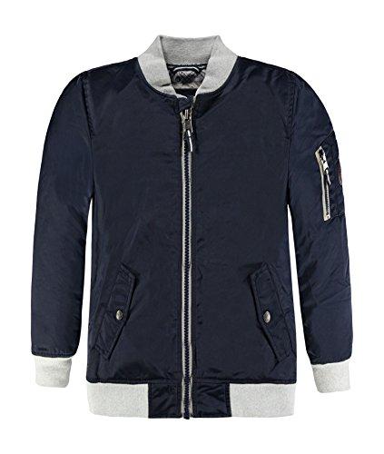 Marc O' Polo Kids Jungen Bomberjacke 1/1 Arm Jacke, Blau (Black Iris 3800), 152