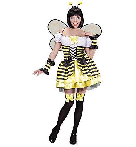 WIDMANN Das Kostümland Disfraz de abeja para mujer, talla S