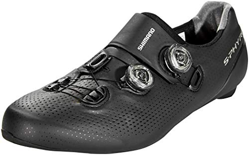 Shimano SH M Rd Rc9 Sphyre, Zapatillas de Ciclismo de Carretera Hombre, Negro (Negro 000), 42 EU