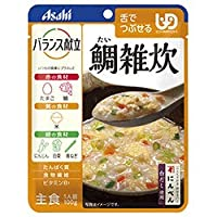 アサヒグループ食品 バランス献立 鯛雑炊 100g×24個入×(2ケース)