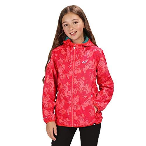 Regatta Unisex Kids Printed Lever Waterproof Jacket