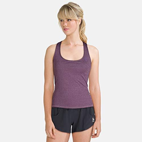Odlo T-Shirt BL Top Maia Ease pour Femme Taille XL (Violet)