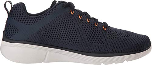 Skechers Equalizer 3.0-52977, Men's Low Top Trainers, Blue (Navy Orange Nvor), 9.5 UK (44 EU)