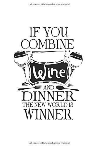 Diabetes Tagebuch: Wein Alkohol Dinner Essen Wortspiel Win Geschenke Typ 1 & Typ 2, 120 Seiten, 59 Wochen, 6X9 (Ca. A5), Blutzuckertagebuch, Hypertonietagebuch