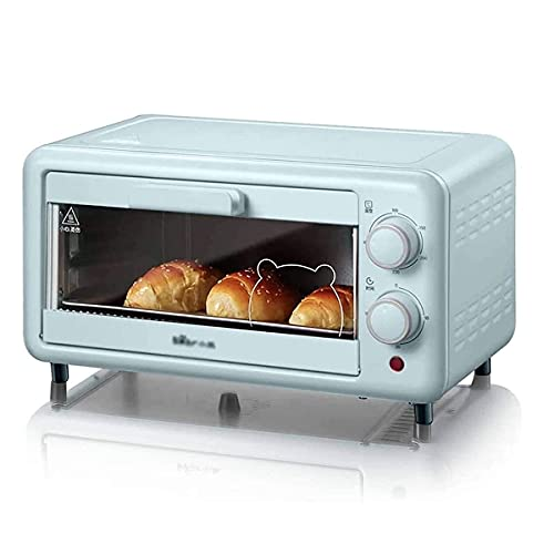 Horno Sobremesa doméstico 11L Mini horno Tostadora eléctrica para hornear Pan de...