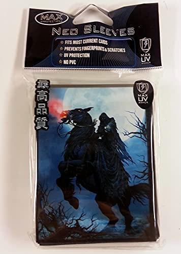 Max Protection 50 Rider MTG Size Deck Protectors Magic Card Sleeves